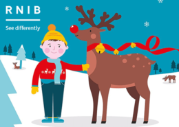 rnib christmas appeal 2019 - charity animation narrator pete edmunds british voiceover
