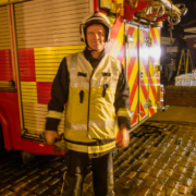 Coronation Street Television 2019 Pete Edmunds Actor Fire Officer Incident Commander