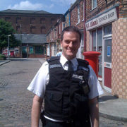 Coronation Street Television - Pete Edmunds as PC Smith