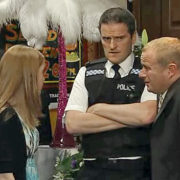 Coronation Street Television Rovers Return Pete Edmunds As PC Smith