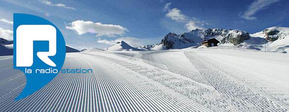 R La RadioStation Tignes Radio Commercial Voiceovers Ski Snow France Alps